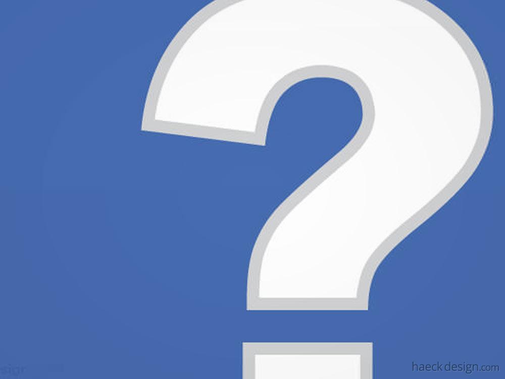 Facebook Questions?