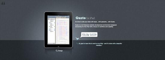 Gusto - Mobile Editor