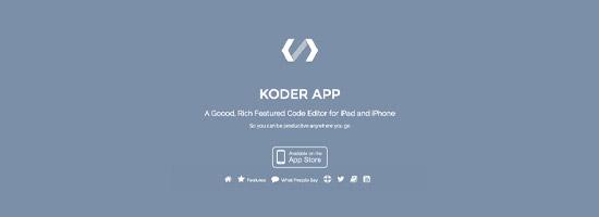 Koder - Mobile Editing App