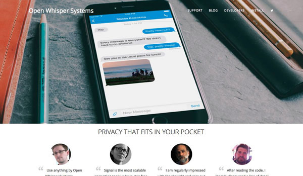 Signal - Private Messaging App