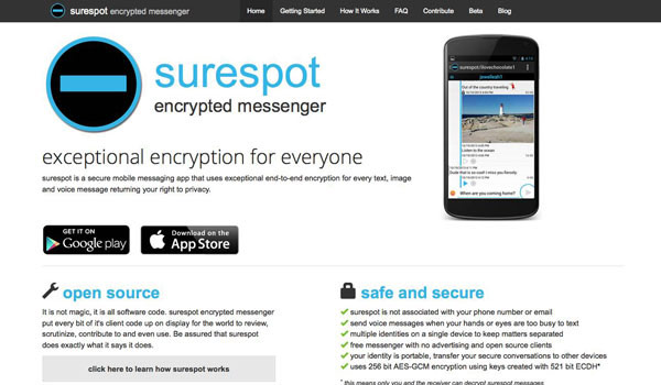 Surespot - Encrypted Messenger