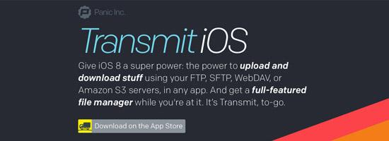 Transmit iOS - Panic