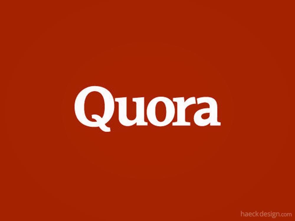 Use Quora