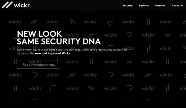 Wickr Messager - Encrypted Text App