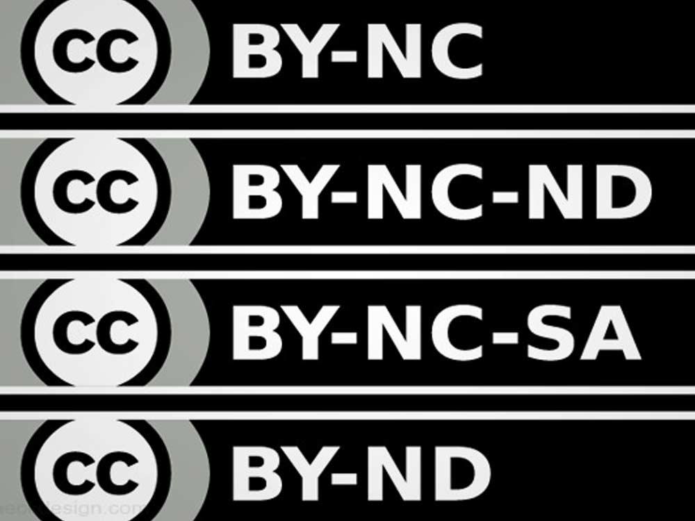 Creative Commons Icons - Icon Sprite