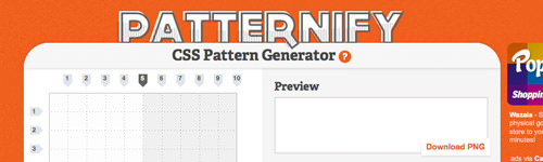 Patternify - CSS Pattern Generator