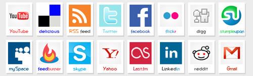 Polaroid Icons - Best Social Media Icons