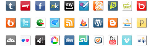 Social Icon Pack Plus - Best Social Media Icons