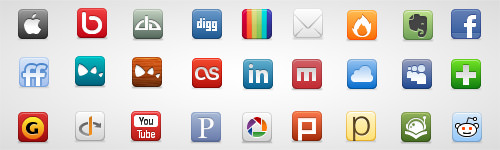 Social Network Icon Pack - Best Social Media Icons