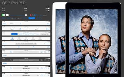 iPad GUI PSD | Teehanlax