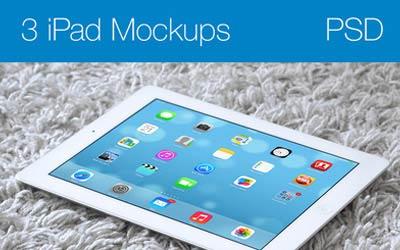iPad Mockup PSD | Max Linderman