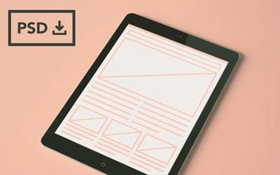 iPad Air Mockup Templates