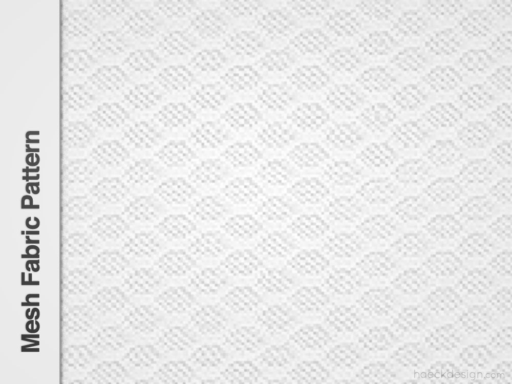 Mesh Fabric Repeatable Pattern