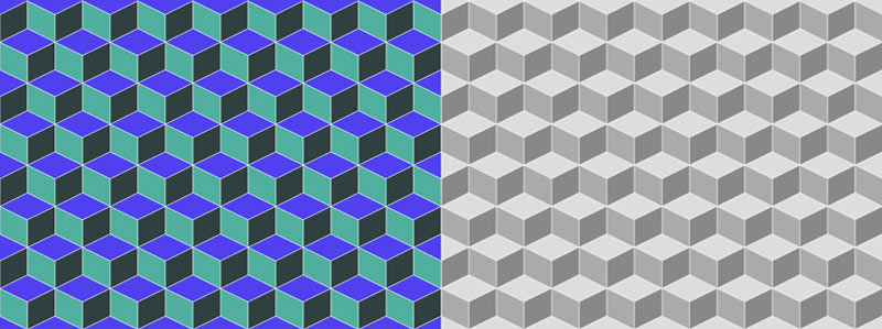 Sample Cube Pattern PNGs from Cube Pattern Vector