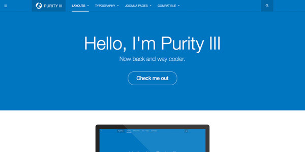Purity - Best Free Responsive Joomla Templates