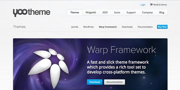 Warp Framework - Top Free Joomla Frameworks
