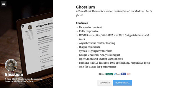 Ghostium - Top Free Ghost Themes