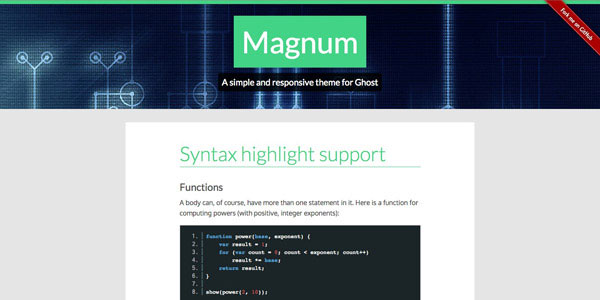 Magnum - Top Free Ghost Themes