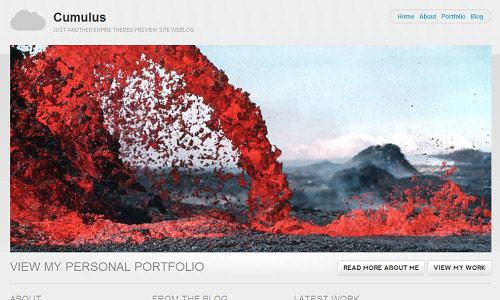 Cumulus Wordpress Theme