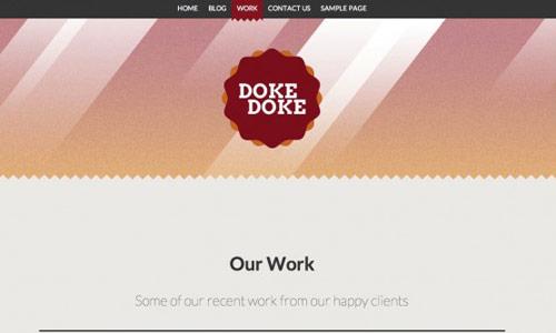 DokeDoke Wordpress Theme