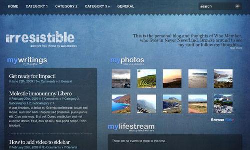 Irresistible Wordpress Theme