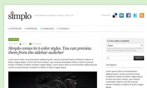 Simplo Wordpress Theme