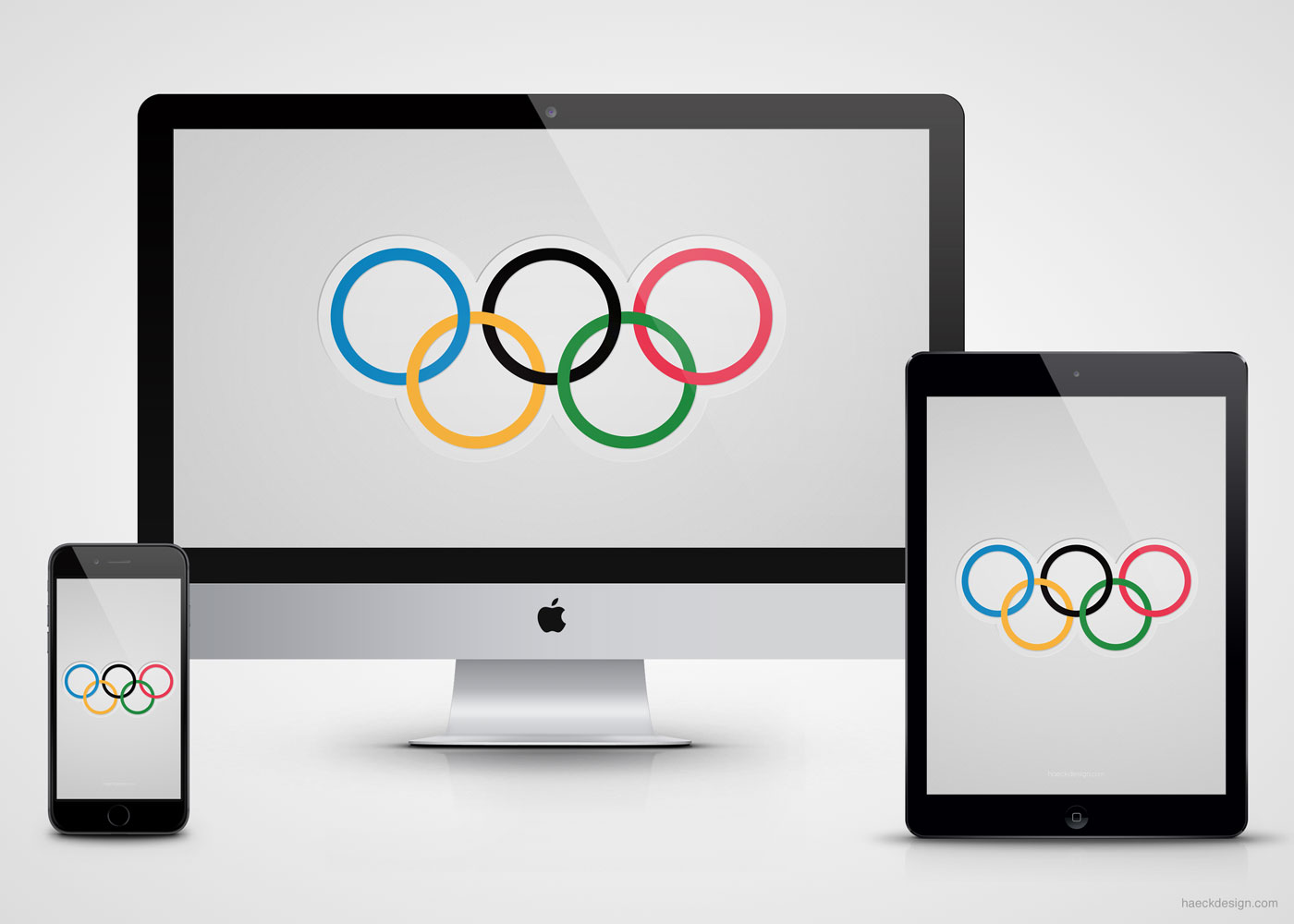 Minimalist Olympic Wallpaper