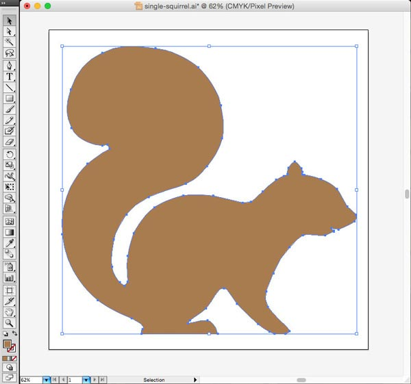 Squirrel Pattern Vector