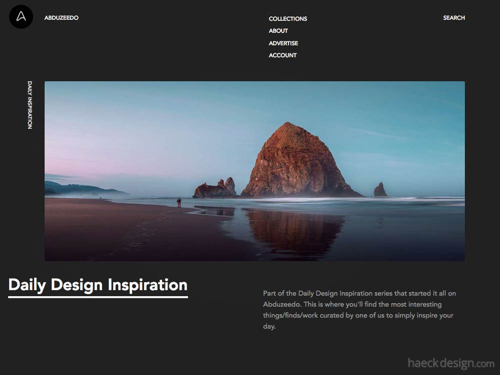 Abduzzedo - Design Inspiration