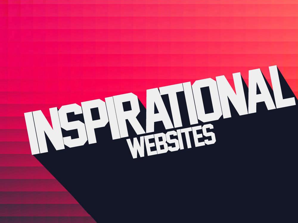 Top 10 Favorite Inspirational Websites