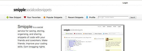 Smipple - The Source Code Resources