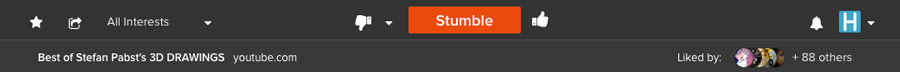 Header Snapshot - StumbleUpon