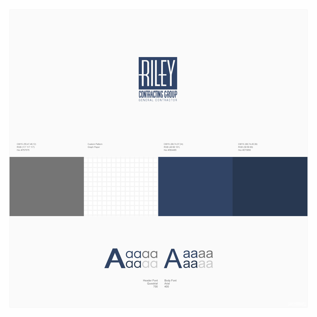 Riley Contracting - Cary, NC | Branding and Identity