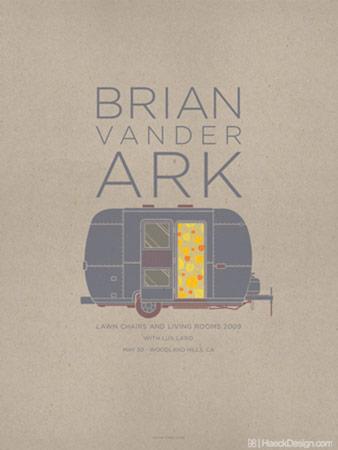 Brian VanderArk Flyer - Woodland Hills, CA | Graphic Design
