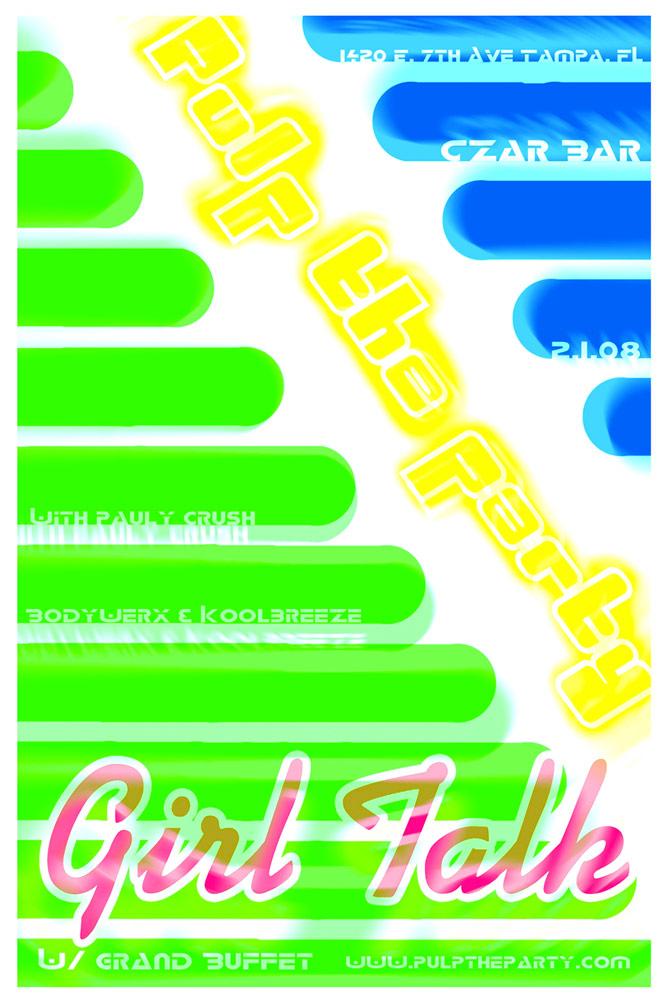 Pulp Flyer - Tampa, FL | Graphic Design