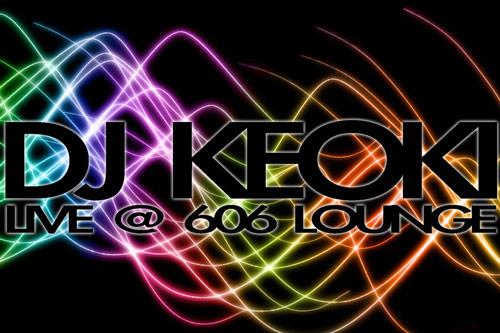 DJ Keoki Flyer - Raleigh, NC | Graphic Design