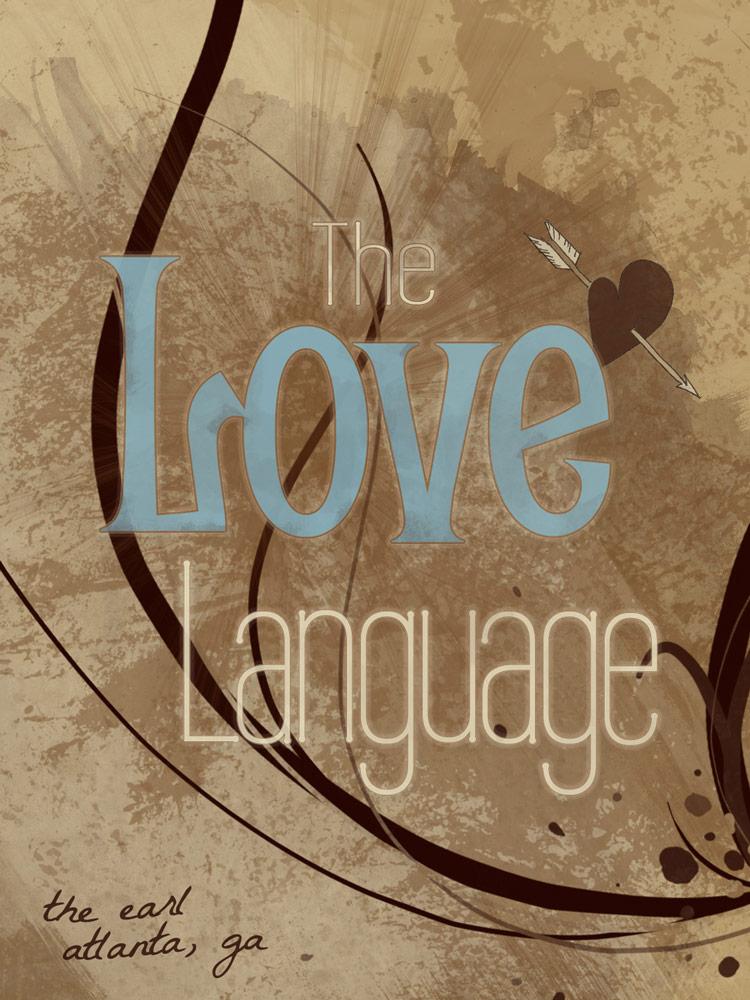 Love Language Flyer - Orlando, FL | Graphic Design