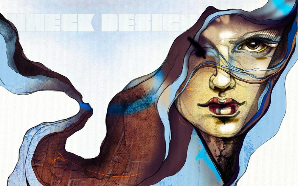 Haeck Design Wallpaper | Graphic Design