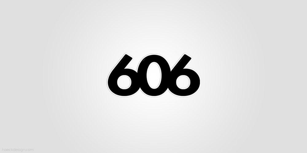 606 Ultralounge - Raleigh, NC | Logo Design