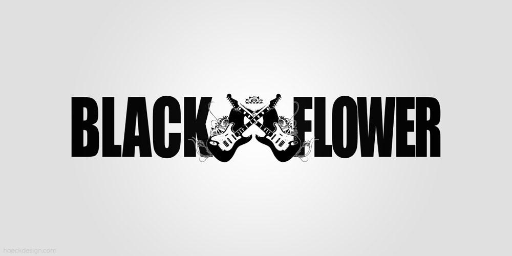 The Black Flower - Raleigh, NC | Logo Design