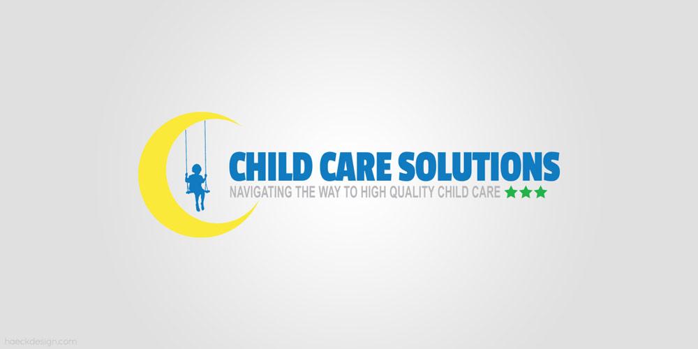 Child Care Solutions - Syracuse, NY   Logo Design