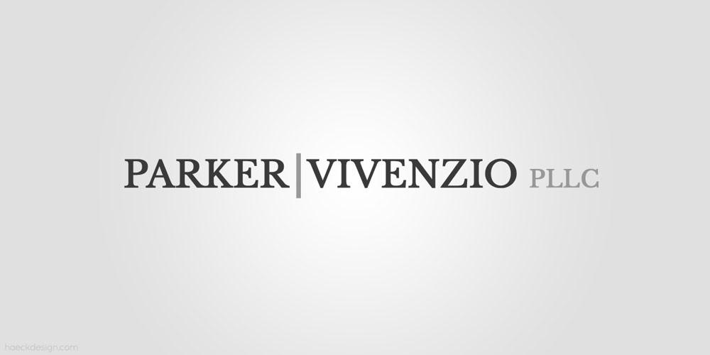 Parker Vivenzio Law - Fairfax, VA | Logo Design