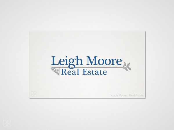Leigh Moore Business Cards - Cary, NC | Print Design