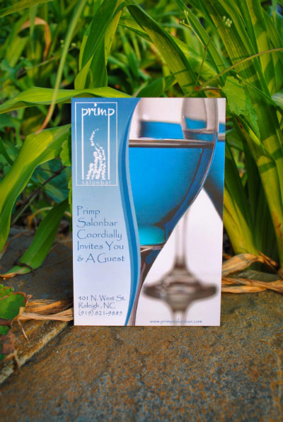 Primp Flyers - Raleigh, NC | Print Design
