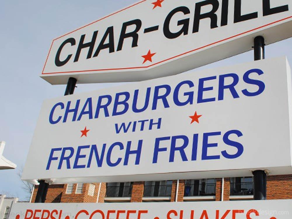 Char-Grill Hamburgers - Raleigh, NC