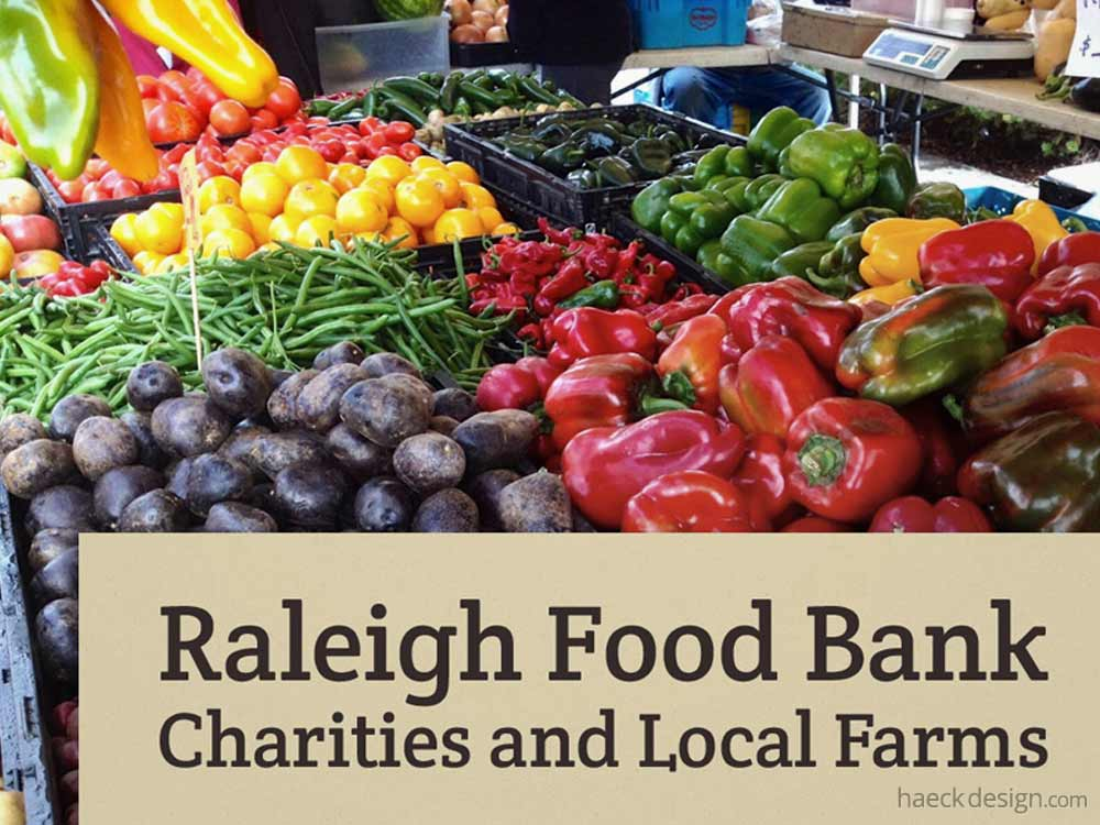 Raleigh Food Bank Charities and Local Farms