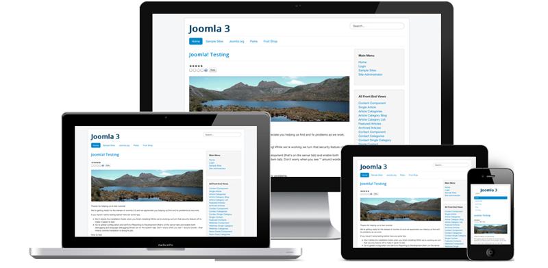 Joomla Basics - Screenshot