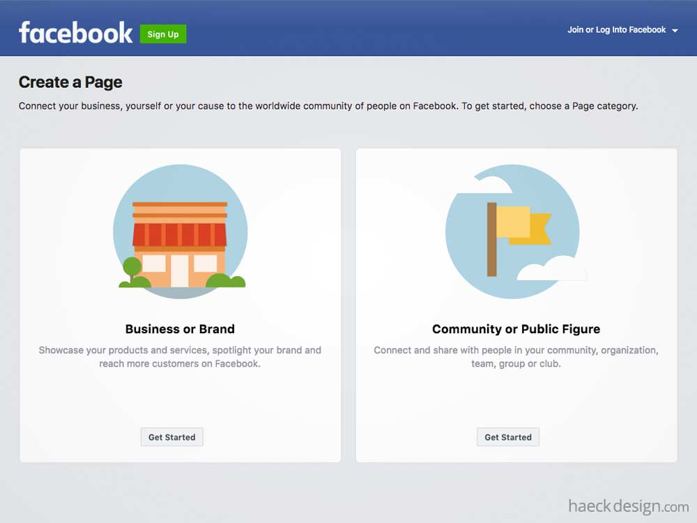 Make Custom Facebook Fanpages
