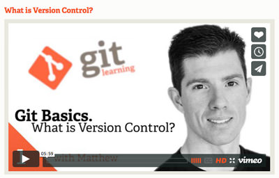 Git Workflow Video
